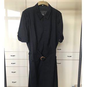 Akris Bergdorf Goodman Belted Dress